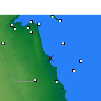 Nearby Forecast Locations - Julaia Port - Map