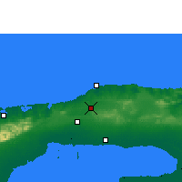Nearby Forecast Locations - Havana - Map