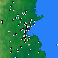 Nearby Forecast Locations - Revere - Map